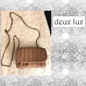 anthropologie DEUX LUX sling purse